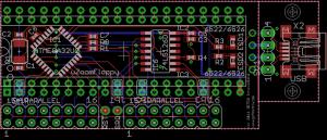 uZoomFloppy PCB