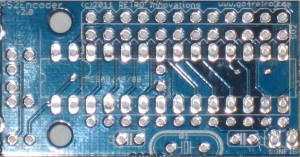 PS2Encoder PCB