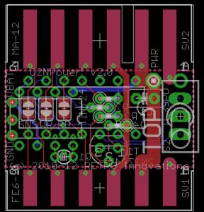 C2N Power! PCB