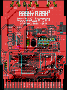 EasyFlash3 PCB