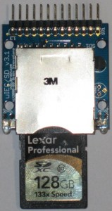 uIEC with 128GB SDXC Media
