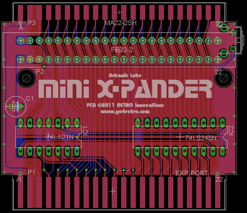 mini-xpander-pcb